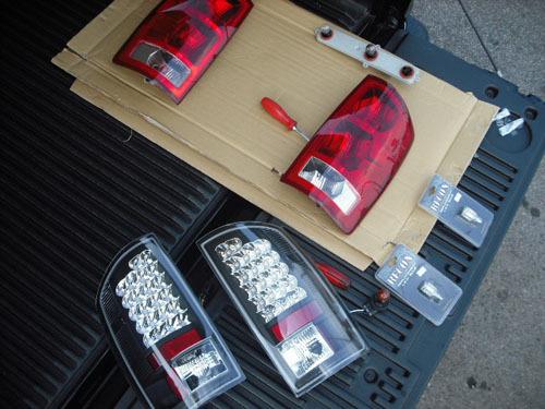 おすすめカスタムダッジ ラムトラック LEDテールランプ カスタム