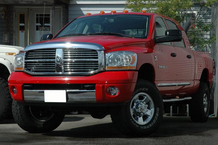 2006年式 ダッジラム2500 メガキャブ 4WD ララミー<br>SOLD OUT