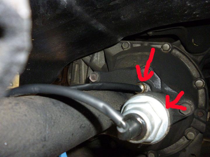 シボレー タホ 修理 4WDアクチュレーター交換