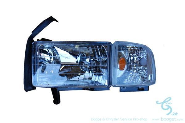 ダッジラムトラック94y~01y 社外ヘッドライトセット