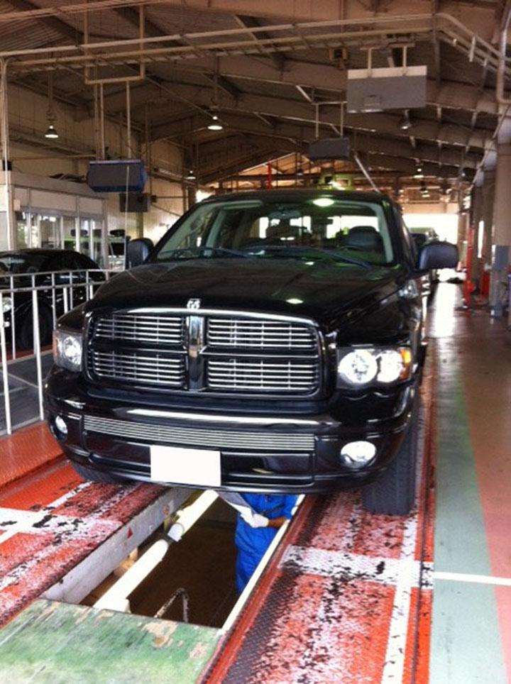 ダッジラム3500 納車整備