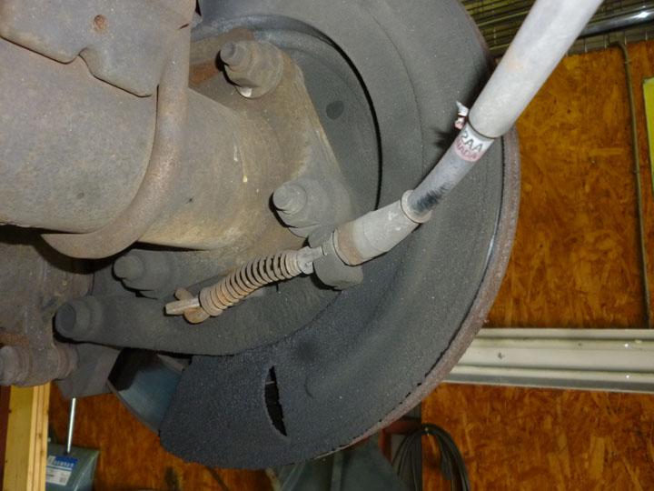 ダッジ マグナム ABS不良 モジュール交換