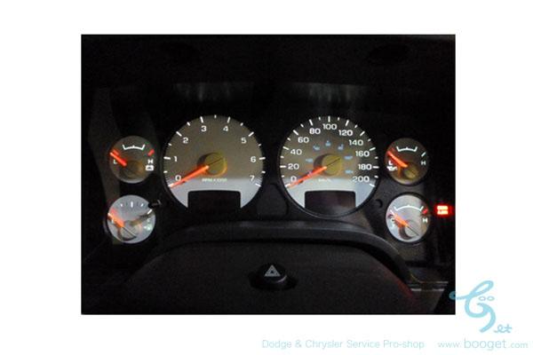 ダッジラムトラック LEDメーターバルブ