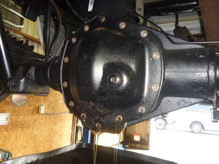 ダッジラムトラック ATF交換 整備