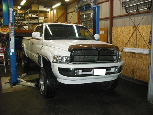 ダッジ ラムトラック AT修理、整備。