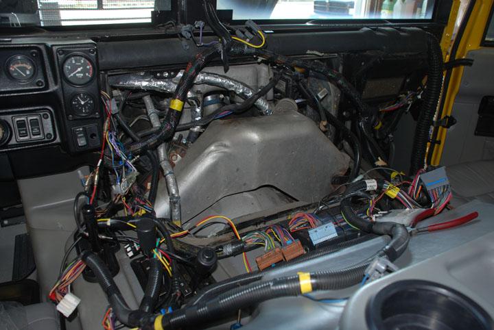 ハマー H1 納車整備 ガスケット交換
