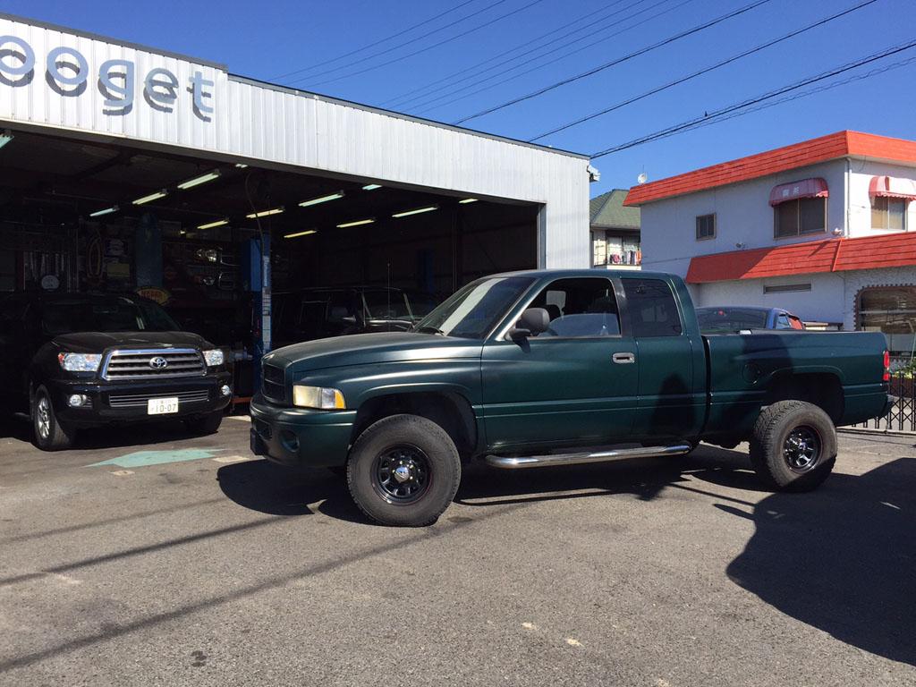 FOR SALE 99yダッジラムトラック4WD 新車並行