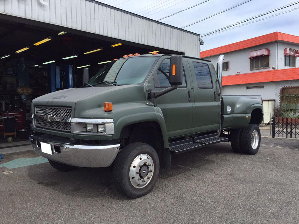 ご成約 2005y C4500 コディアック 4WD