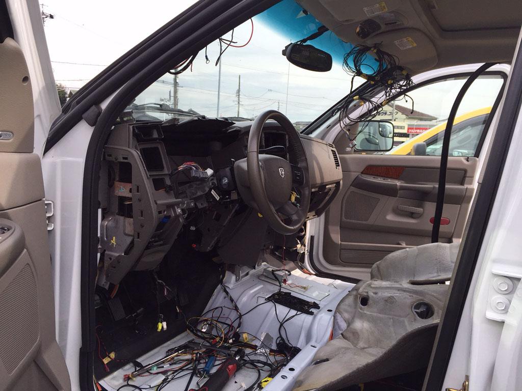 ダッジラムトラックの定番修理