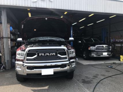 ダッジラムトラック ラムバン 修理 整備など