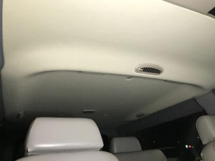 ダッジバン 天井の垂れ 天井の剥がれご相談ください。