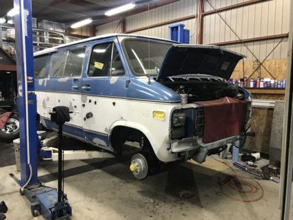 1979y シェビーバン G20 納車準備中!