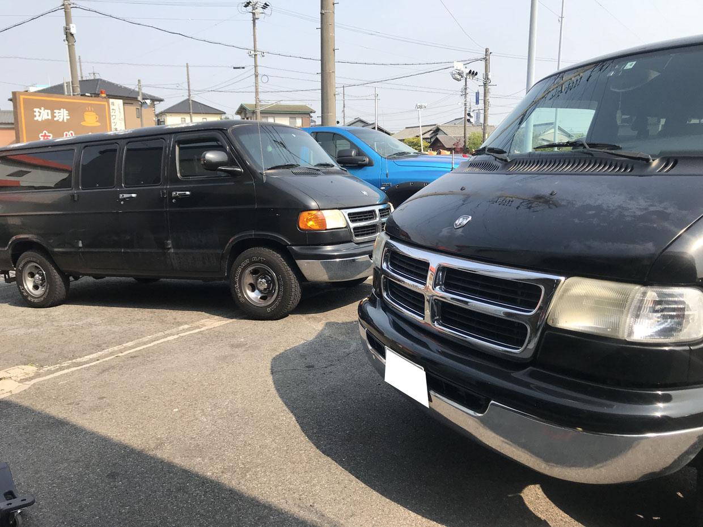 他店で購入のラムバン ラムトラックの車検等お受けできます
