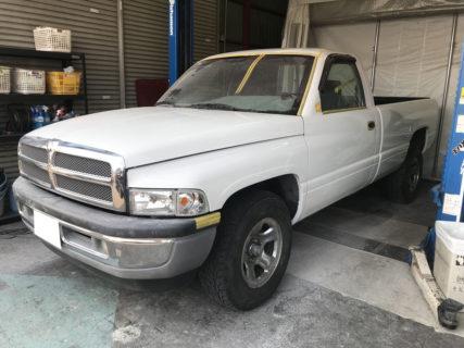 1995y ダッジラムトラック全塗装