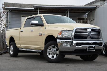 自社輸入 2011年式 ダッジラム 2500 クルーキャブ ビッグホーンエディション 4WD <br>SOLD OUT