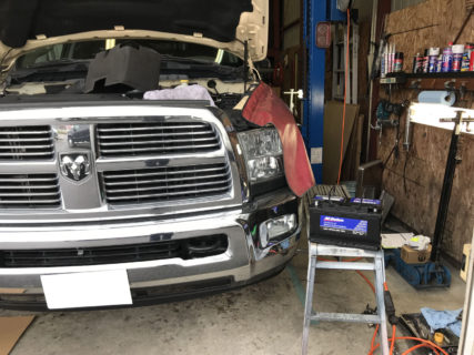 2011y ダッジラム2500 納車準備中