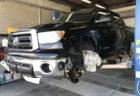 2011y タンドラ クルーマックス 新車並行 納車準備