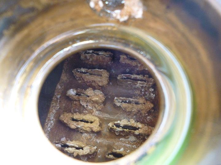 ダッジバン 水漏れ修理