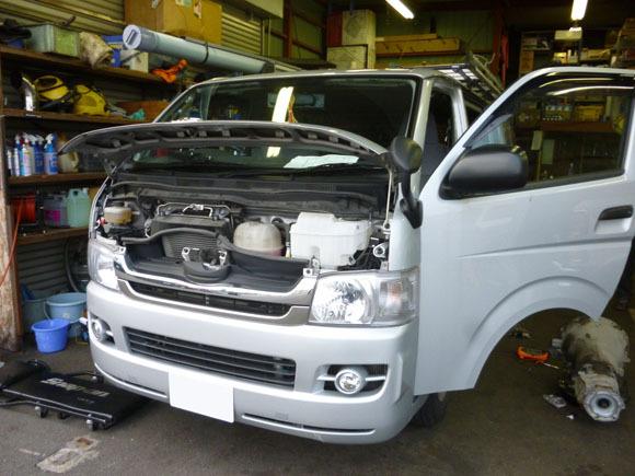 ダッジ ラムバン ロードトレック キャンピングカー修理
